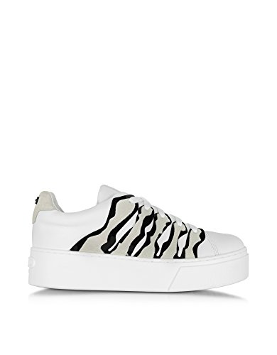 KENZO SNEAKERS DONNA F661SN234L5101 PELLE BIANCO