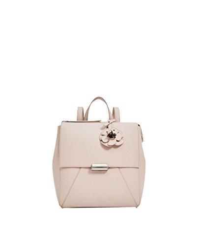 Modello Yy.f Fiore Zaini Cinghia Borsa A Tracolla Donna Del Design Borse Portafogli Pacchetto Solido Di Colore 2 Pink