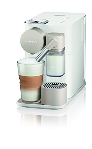 De'Longhi 0132193272 Latissima One Single Serve Coffee Machine, 1400 W, 1 Liter, Silky White Best Price and Cheapest