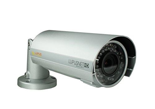Lupus Electronics LUPUSNET HD LE 934 PoE Full HD Megapixel Netzwerkkamera IP Kamera inklusive deutscher 36 Kanal Software, 10934