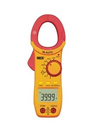 Meco 36-Auto Digital AC-DC Clamp Meter