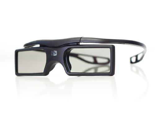 3D Active Shutter 3D Brille (Batteriebetrieb) in schwarz für BLUETOOTH 3D Fernseher / Marke PRECORN