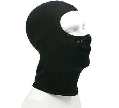 BE-X Sturmhaube / Kopfhaube / Balaclava, mit atmungsaktivem Einsatz, 100 % Baumwolle - schwarz von BE-X auf Outdoor Shop