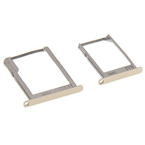 jshopping Replacement Sim Tray Sim Card Holder and memory card holder for Samsung Galaxy A7 - GOLD