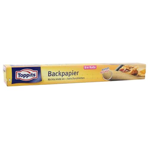 Toppits Backpapier in naturbraun 8 m