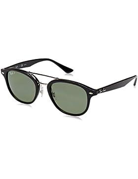 Ray-Ban 0Rb2183, Gafas de Sol Unisex-Adulto, Black, 53