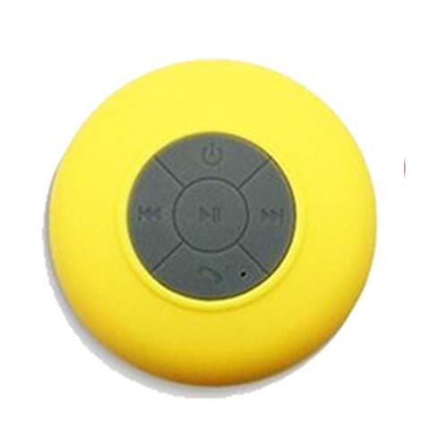 Tragbarer Mini-Funklautsprecher Wasserdichter Subwoofer-Stereo-Sauglautsprecher mit Mikrofon-Freisprecheinrichtung