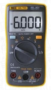 MECO Digital 108B+ TRMS Multimeter Pocket Size