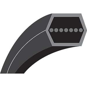 AA86M : Courroie hexagonale pour Courroies d'entraînement pour Garden et Estate STIGA Estate Collector/Senator/President (2007-)/ Senator 14/Senator HST 17/Pro HST 17 (2011-); SC 9214(2011-) (plateau) - Longueur extérieure: 2235 mm - N° origine: 35065701/0