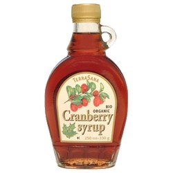 TerraSana Cranberrysirup (250 ml) - Bio