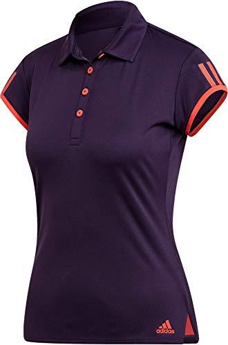 adidas Damen Club 3 STR Polohemd, Legpur, XS