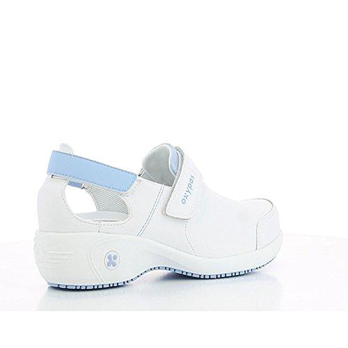 Oxypas Salma, Chaussures de sécurité Femme - Blanc (lbl), 38.5 EU