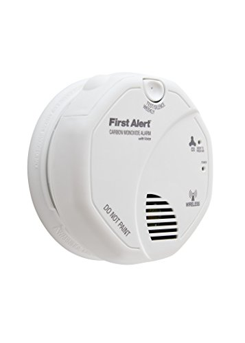 First Alert CO511B Wireless Interconnect Carbon Monoxide Detector with Voice Alarm