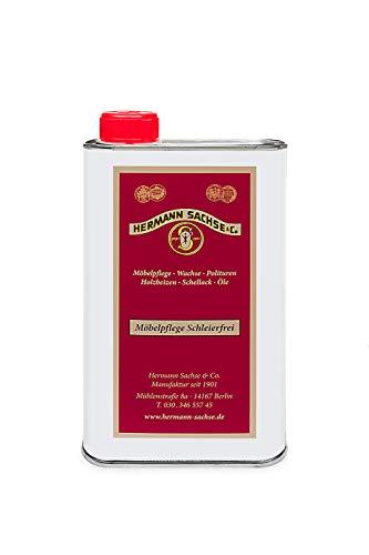 Hermann Sachse Möbelpolitur 500ml Möbelpflege Schleierfrei für Antikmöbel Möbelpflegeöl - Henna-behandlung
