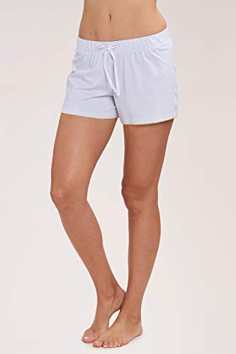 Rösch Hosen Damen Shorts mit Pünktchen-Print Grau, be Happy, 2193456 S Little Dots Grey -