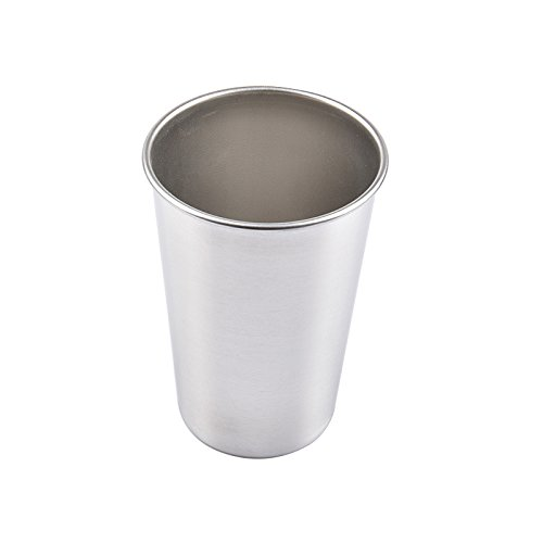 oobest Bicchieri in Acciaio Inox 30/70/180 / 320ml Camping Picnics Bicchieri impilabili per Esterni