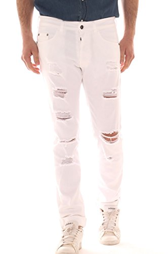 X-Cape Herren Jeanshose Bianco