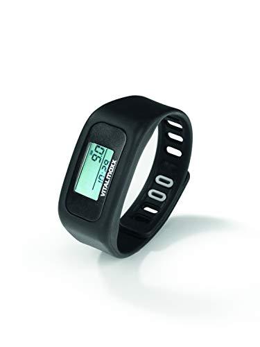 VitalMaxx Fitness-Tracker Schwarz (Fitness-wahnsinn)