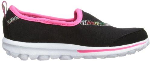 Skechers GO Walk Mädchen Sneakers Schwarz (Bkmt)