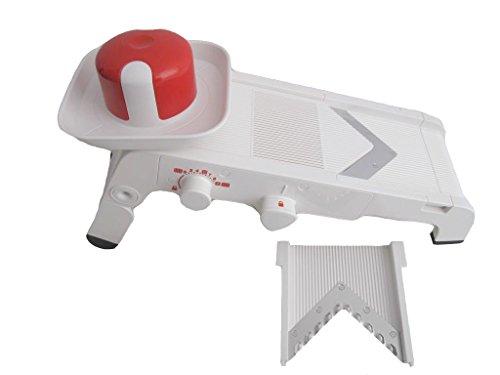 TUPPERWARE Chef Mando-Chef weiß-rot D202 Multihobel Reibe