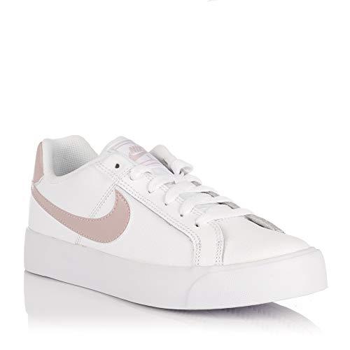 lowest price 2c5ff 0332b Nike Wmns Court Royale AC, Zapatillas de Deporte para Mujer, (White/Particle
