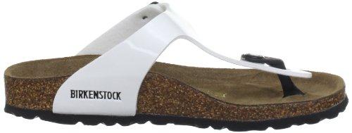 Birkenstock Gizeh 743243, Tongs Blanc