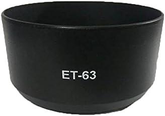 Hanumex ET63 Lens Hood for Canon EF-S 55-250mm f/4-5.6 is STM Lens (Black)