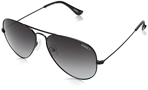 IDEE Polarized Aviator Unisex Sunglasses - (IDS2001C41PSG|58|Grey Gradient Color)