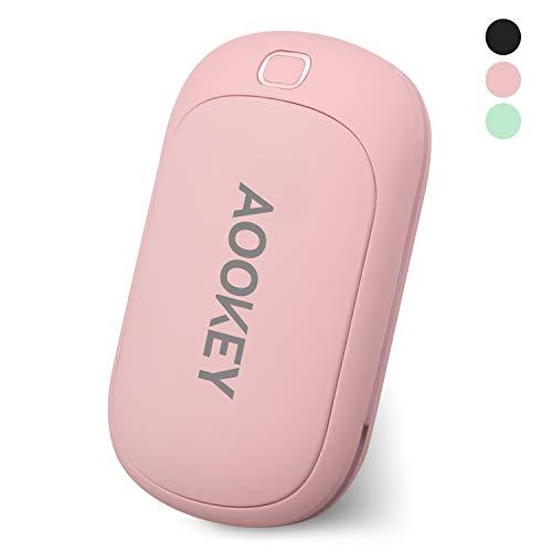 AOOKEY Calentador Manos USB Recargable 5200mAh Powerbank