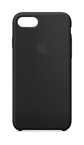 Apple Silicone Case (for iPhone 8 / iPhone 7) - Black