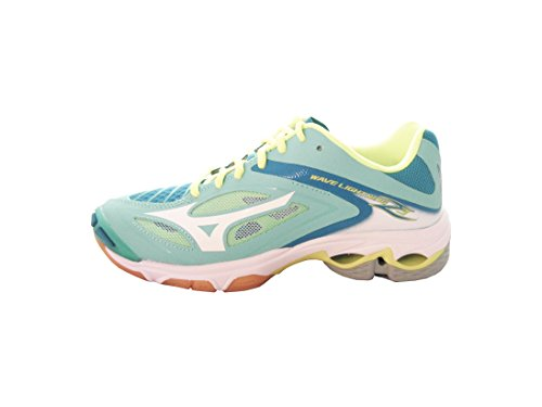Mizuno Wave Lightning Z3 W, Chaussures de Volleyball Femme Multicolore (Peacoat/white/pinkglo)