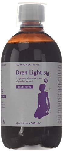 dren light big integratore alimentare a base di piante e derivati - 500 ml