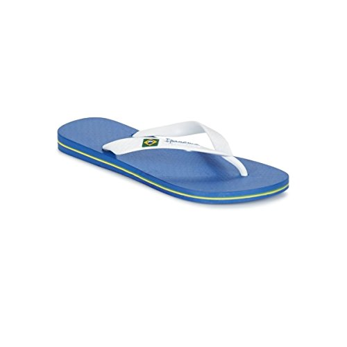 Ipanema Tongs Classica Brasil II Blue/White Bleu