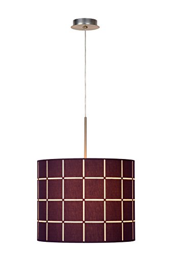 lucide-61458-40diameter-58a-to-e-texture-ceiling-pendant-light-60w-e27-aubergine-40x-60cm