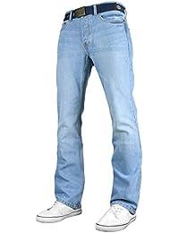 Smith   Jones Mens Nouveaux Enrico Bootcut Jambe Jeans Stonewash 6da146e7ad1a