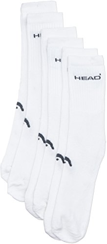 Head Herren Socken Men Tennis Instinct, 3er Pack, Weiß, 39-42, 811251