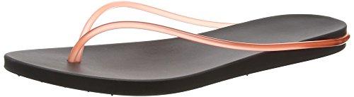 Ipanema Philippe Starck Thing M Fem Damen Zehentrenner Schwarz (black/pink 8018)
