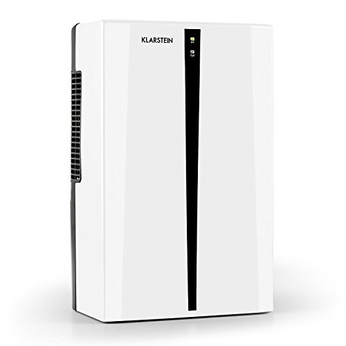 Klarstein Drybest Home 750 - dehumidifiers (50/60 Hz, Black, White, 0 - 30 °C, 0 - 80%)