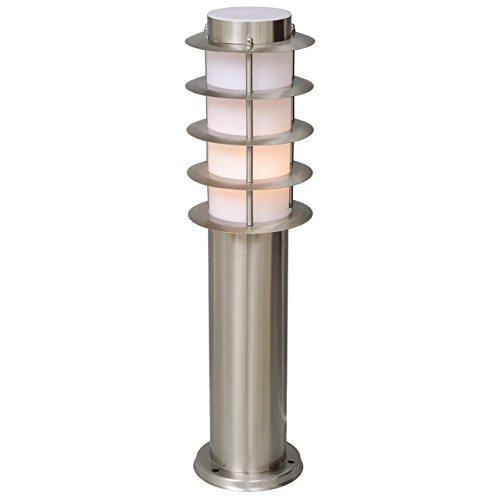 MW-Light 809040601 Baliza de Luz Para Exteriore Lámpara de Suelo Estilo Moderno...
