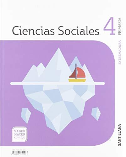 CIENCIAS SOCIALES EXTREMADURA 4 PRIMARIA SABER HACER CONTIGO SANTILLANA
