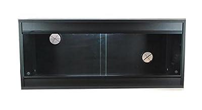Vivarium 36x15x15 Inch Repti-life Vivarium in Black Flatpacked by Repti-life