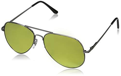 Balinco Hochwertige Pilotenbrille Sonnenbrille 70er Jahre Herren & Damen Sunglasses Fliegerbrille verspiegelt
