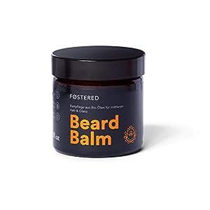 Bart Balsam mit Bio Ölen von FOSTERED. Bartwachs zur täglichen Bartpflege für einen natürlich weichen und gepflegten Bart