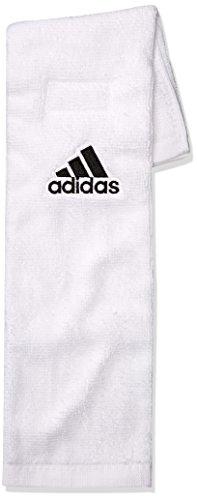 Adidas Fußball Handtuch, Herren, weiß, Einheitsgröße (Adidas Weiß Herren Uhr)
