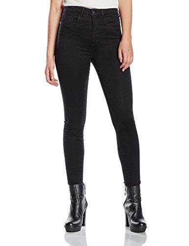 ONLY Damen Skinny Jeanshose Onlroyal High Sk Jeans Pim600 Noos, Gr. 40/L32 (Herstellergröße: L), Schwarz (Gefärbte Denim)