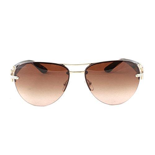 Versace Unisex VE2159B 125213 Sonnenbrille, Gold), One size (Herstellergröße: 59)