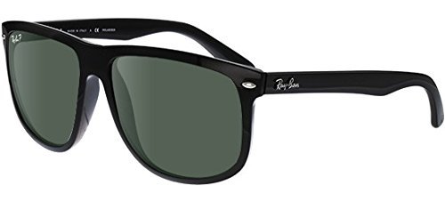Ray-Ban - RB 4147, Oversize, Propionat, Herrenbrillen, BLACK/CRYSTAL GREY GREEN POLARIZED(601/58 E), 60/15/145
