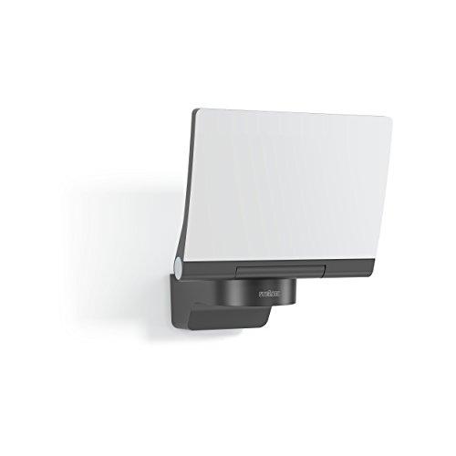Steinel LED-Strahler XLED Home 2 XL Slave graphit, vernetzbarer Fluter, 20 W, LED Wandleuchte außen, Innenhof & Zufahrt