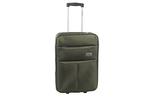 Maleta semirrígida PIERRE CARDIN verde mini equipaje de mano ryanair S276