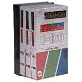 EUROPSONIC C180/3 PACK 3 x K7 VIDEO 180 min+1JACKET
